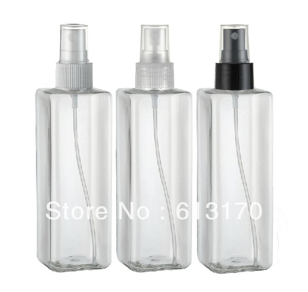 250ml Pet Empty Plastic Spray Bottles Containers Clear Plastic Spray Bottle Decorative Perfume Bottles Wholesale Design Perfume Bottle From Yi07