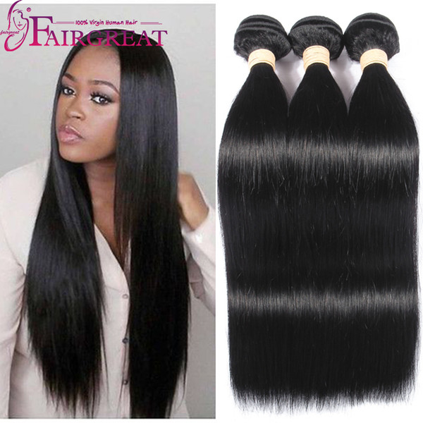 best selling Brazilian Straight Human Hair Bundles 100% Unprocessed Brazilian Human Hair Extensions 8-28inch Cheap Brazilian Human Hair Weave Bundles