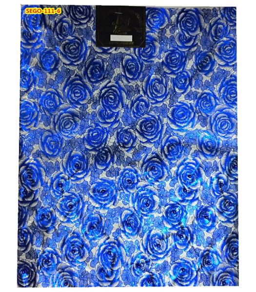 Bonne qualité africaine sego perles headtie 2 en 1 pack 2017 dernière conception rose motif africain gele 10 couleur disponible sego-111