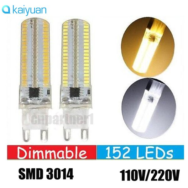 led 15W Dimmable 152LEDs SMD 3014 Led Lights G4 G9 E12 E11 E17 E14 Led Corn Lights Bulbs Lamps High Lumens AC 110-240V light lighting