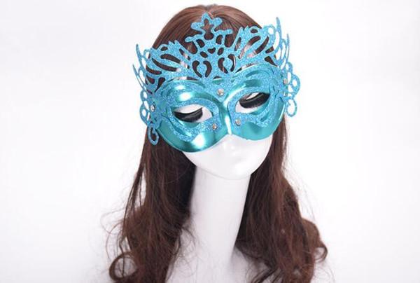 Hot Sale carnival mask Lady Sexy Fashion Halloween mask Masquerade Masks Christmas party Brow ball mask