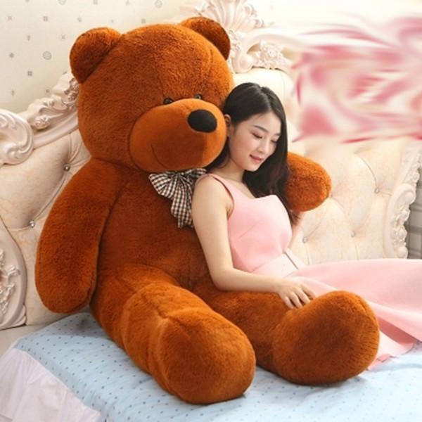 TEDDY BEAR PLUSH HUGE SOFT TOY animal Plush Toys Valentine's Day gift Christmas gift 80-100-120-140-160-180-200CM