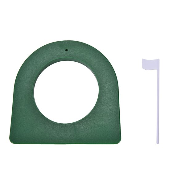 Al por mayor- 1Set Golf In / Regulación al aire libre Putting Putter Hole Putter Practice Trainer Aid Flag
