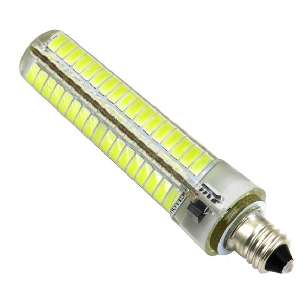 Pack 2 E11 Led Bulb Dimmable 110v 220v Ac 6w 560 Lumens 136 5730 Smd Led Daylight Candelabra Bulb Silica Gel Chandelier Landscape Lamp T5 Led Bulb