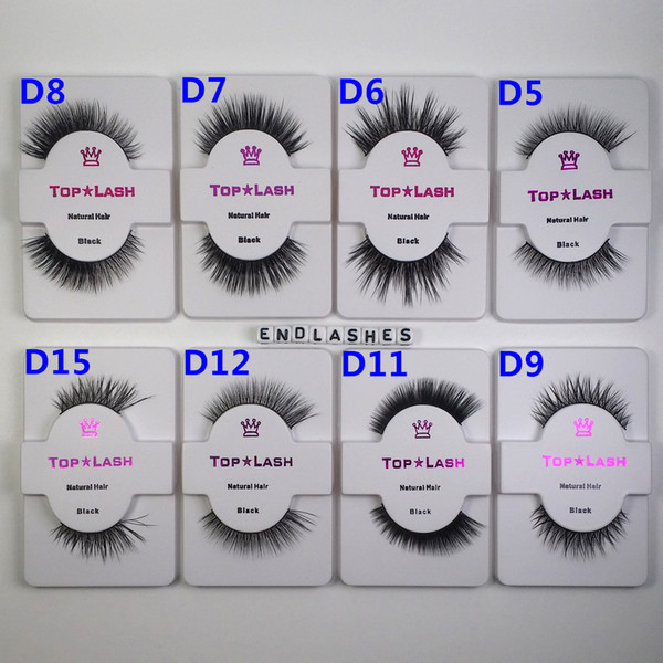 1 Pair/Set 100% Natural Mink Hair Fur Eyelashes OEM&Private Logo Acceptable Messy Eye lash Extension Sexy Eyelash Full Half Strip Eye Lashes