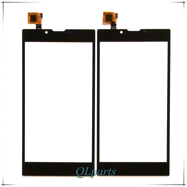 """Wholesale- 5.5 """" 55Platinum Sensor Replacement Parts For Archos 55 Platinum Touch Screen Digitizer Front Glass Panel With Tracking Number"""
