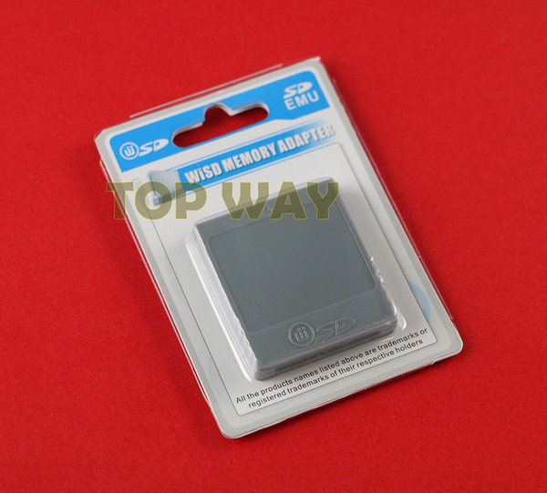 best selling SD Flash WISD Memory Card For Wii Adaptor Converter Adapter Card Reader For Wii GC GameCube Game Console