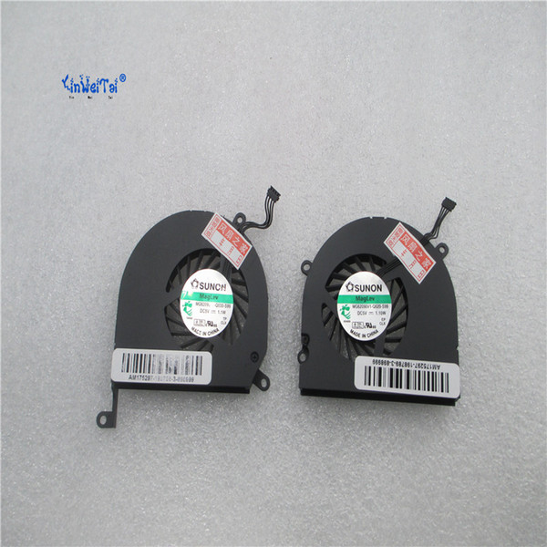 15-Inch A1286 Left+right Side CPU Cooling Fan 2008 2009 2010 2011 2012 for Apple Macbook Pro