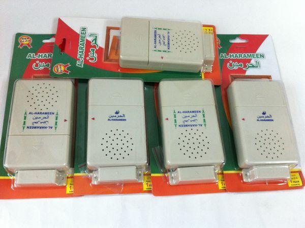 top popular Door Azan Sensor Prayer islamic wireless doorbell HA-1002 ramadan promotional gifts al-harameen brand door chimes for muslim use 2021