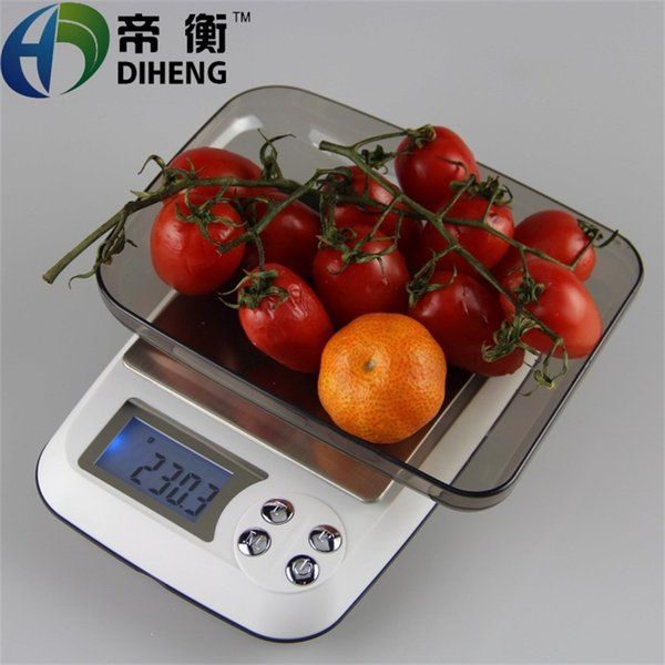 New Precision Scales, Electronic Scales 3kg / 0.1g, Kitchen Balance Scales, Gold Scales DH-DM30 type of tea