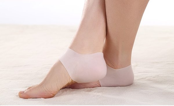 Brand New silicone Gel Heel protector shoe insoles cushion and Ankle Sleeve for plantar fasciitis H011