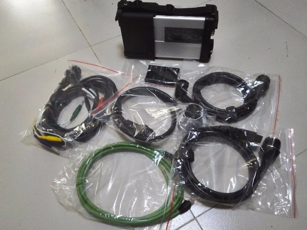 wifi MB Star C5 SD Connect C5 Strumento diagnostico per benz Mercedes senza software Per diagnosi carTruck Garanzia di un anno