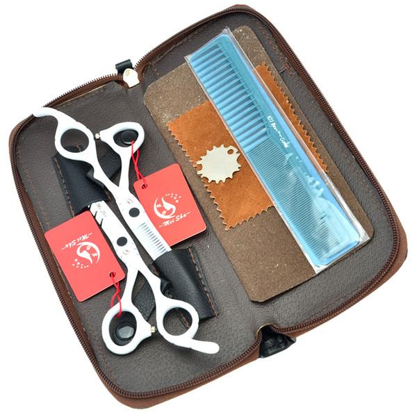 5.5Inch 6.0Inch Meisha Hair Cutting Scissors Thinning Shears JP440C Hairdressing Scissors Kits Barber Scissors for Stylist Tool,HA0188