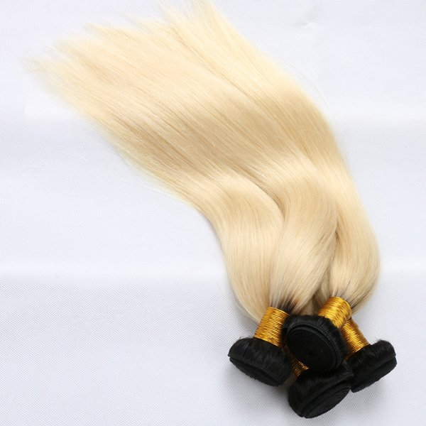Halo Lady Ombre Color 1b Blonde Beige Grey Baby Blue Brazilian
