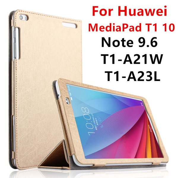 the best attitude b2412 31a39 Wholesale Case For Huawei MediaPad T1 10 PU Protective Smart Cover Leather  Tablet For HUAWEI Note 9.6 T1 A21W T1 A23L T1 A21L Protector Cheap Tablet  ...