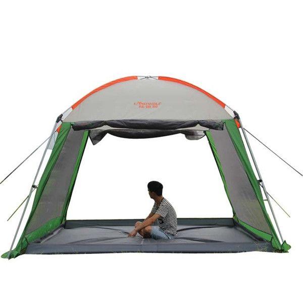 Outdoor Waterproof Sun Shelter Beach Gazebo Canopy Tent Multi-people Party Picnic Camping Awing Gazebo for Garden