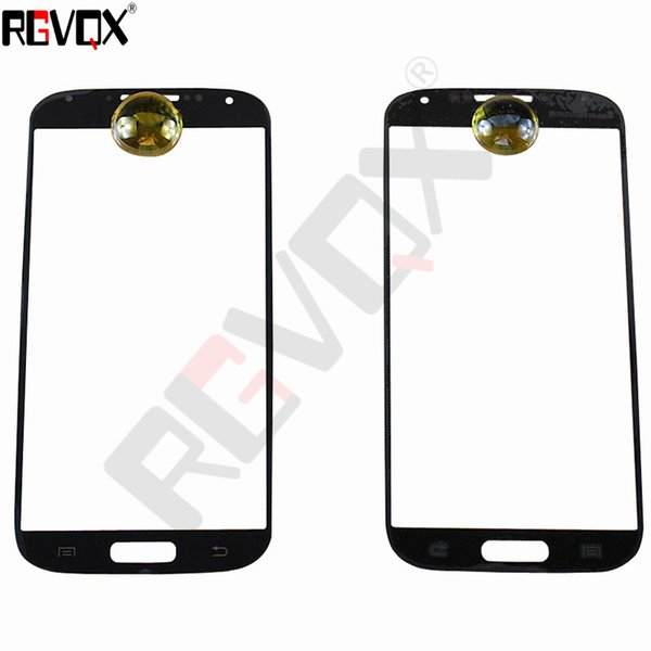 New Touch Glass For Samsung Galaxy S4 I9500 i9505 i337 For Front Screen Glass Lens Black/White With Free Shipping Replacement Repair