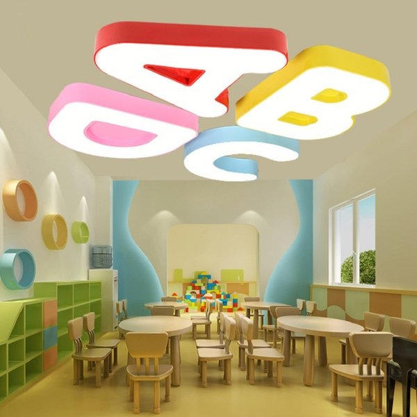 Children's clothing store LED lights children's cartoon shape ceiling lamp led kindergarten creative hall decorative bedroomLED ceiling lamp