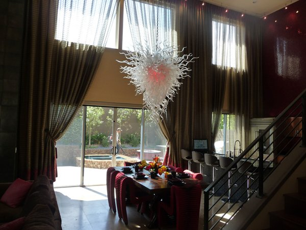 New Arrival Luxury Crystal Chandeliers House Decoration 110v/120v Chihuly Borosilicate Rustic Murano Glass Art Modern