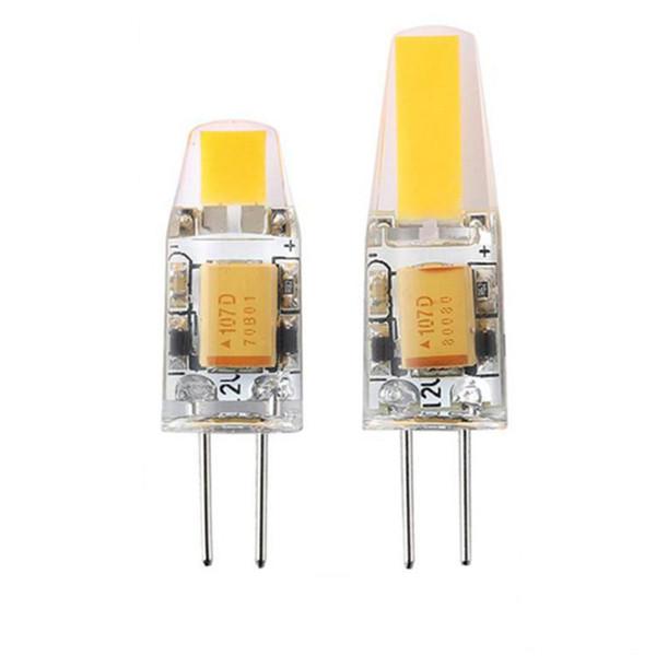G4 LED Dim 12 V AC / DC COB Işık 3 W 6 W LED G4 COB Lamba Ampul Avize Lambaları Halojen ışık değiştirin garanti 3 yıl