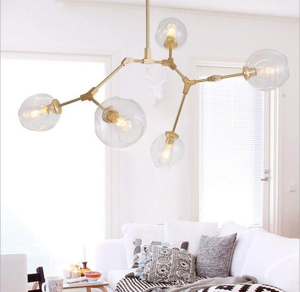 new Lindsey Adelman Chandeliers lighting modern lamp novelty pendant lamp natural tree branch suspension Christmas light hotel dinning room