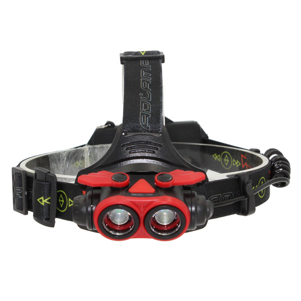 KC Fire New 11000LM XM-2xL2 Led USB Rechargeable Zoomable Headlamp Zoom Headlight Bike Head Lamp Light HL0031