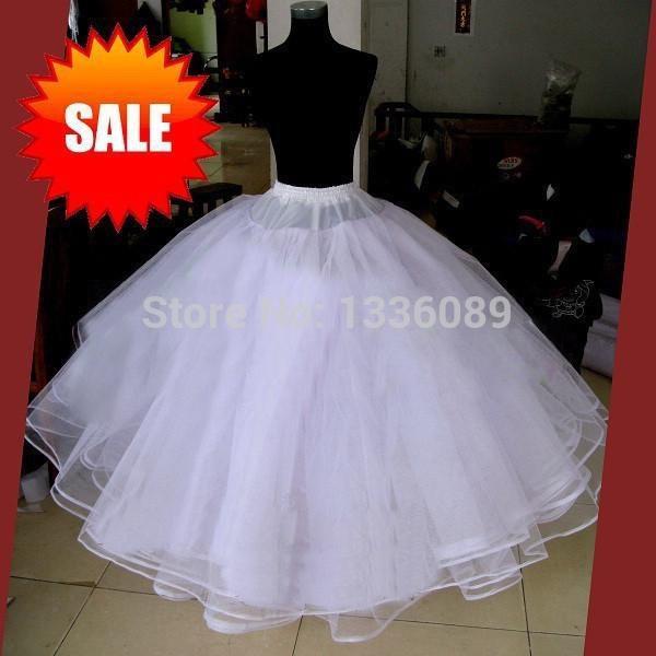 No-hoop - 8 capas de net Plus vestido de bola Vestido de falda de falda de crinolina Falda con elástico para una boda de fiesta