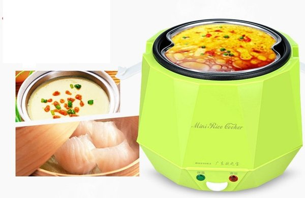 top popular Portable mini electric rice cooker 1.3L 2-3 person car electric cookers 12V or 24V C01006 2021