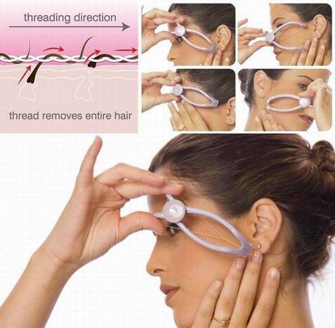 1 Set Epilatore Beauty Tool Facial Body Hair Remover Epilatore Sistema di threading manuale di alta qualità Hair Remover per le donne Facile da usare