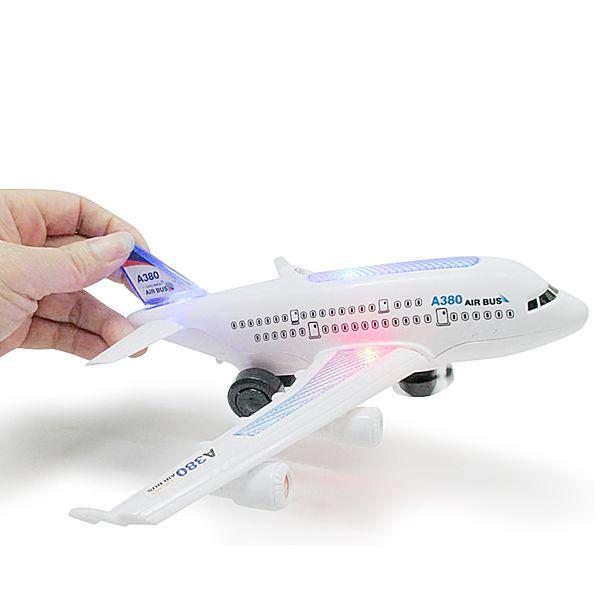 Modelo Led Bus Aeroplano Air Musical Niños Compre Juguetes Eléctricos De Luz Aviones Parpadeante Para w80vnNm