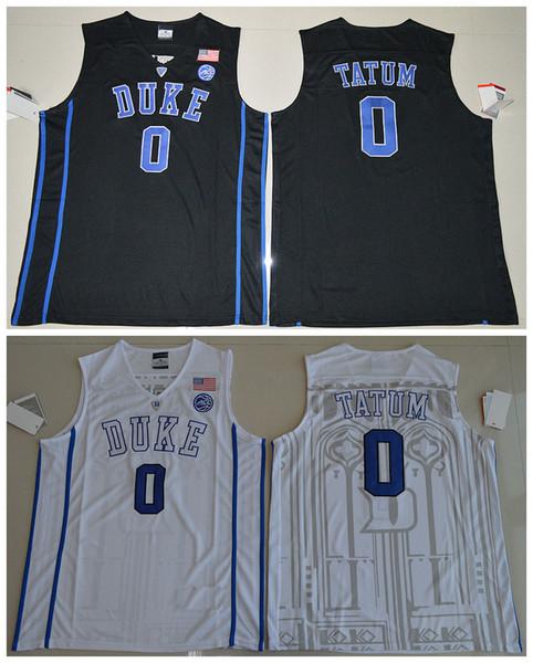 pretty nice 4787a 3033a 2017 0 Jayson Tatum 2017 Duke Blue Devils V Neck College Authentic Jersey  Black White Size S M L Xl Xxl Xxxl From Nacc, $16.59 | Dhgate.Com