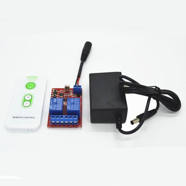 All'ingrosso - Relay remoto IR Remote Control Module Relay, telecomando IR e spina femmina da 5,5mm Cavo CC 1A 5V DC AC Adapter