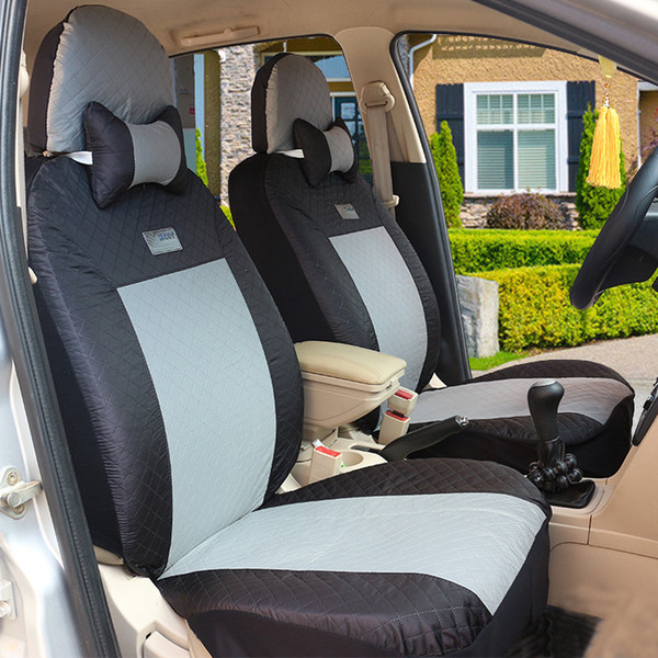 Universal Car Seat Cover Set Red Car Styling Fit Most Auto Interior