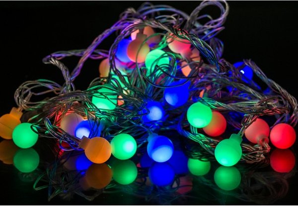 Coversage 20M 200 Led Festoon Christmas Tree Garland String Xmas Decoration Ball Led Curtain Navidad Curtain Fairy Lights HolidayAC 110V-220