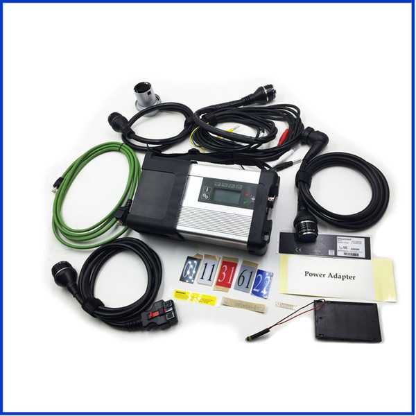 2017 For Benz Diagnostic Tool mb star c5 sd connect Wifi Diagnosis SD C5 Multiplexer with five cables full set Wireless connect