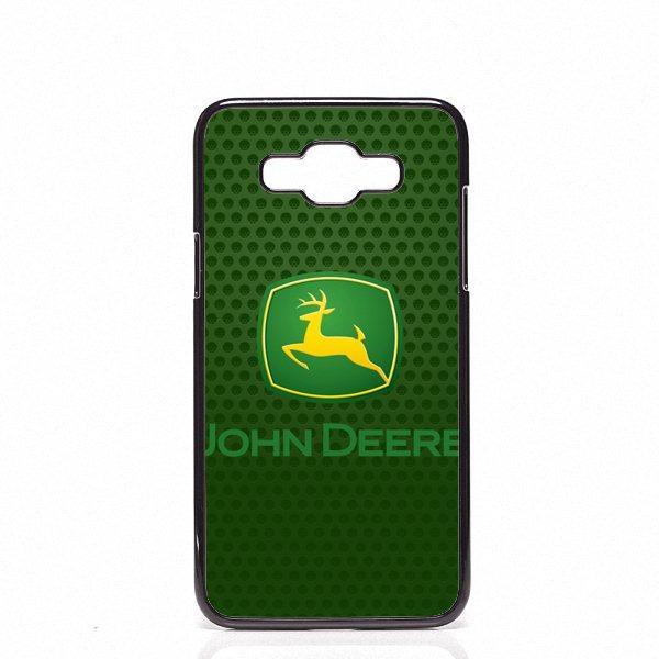 John Deere logo Custodie per cellulari Custodie rigide in plastica per Samsung Galaxy J2 J3 J5 J7 2015 2016 2017