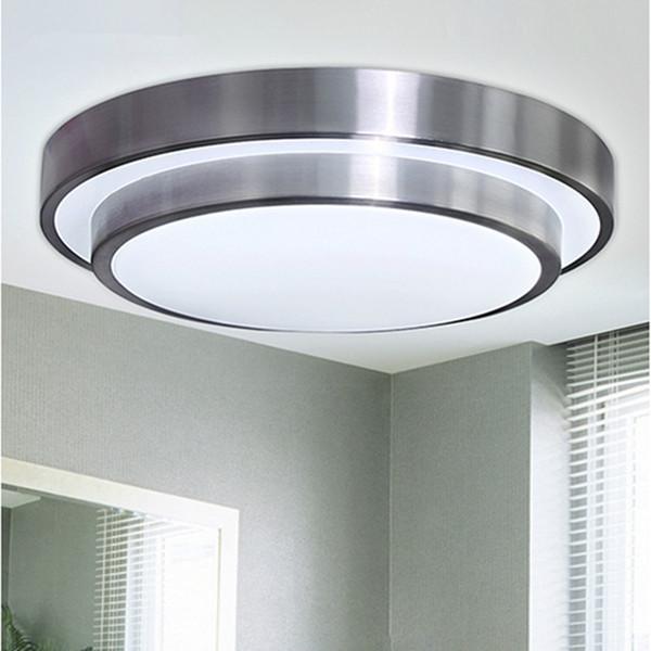 12W / 18W / 24W / 35W llevó la luz de techo abajo la luz llevó la lámpara redonda doble de la luz del dormitorio de la sala de estar 85-265V llevó la lámpara del techo