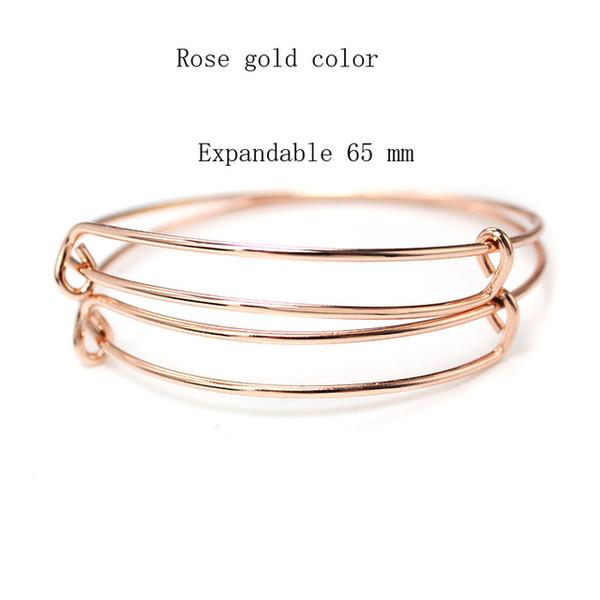 65mm rose gold
