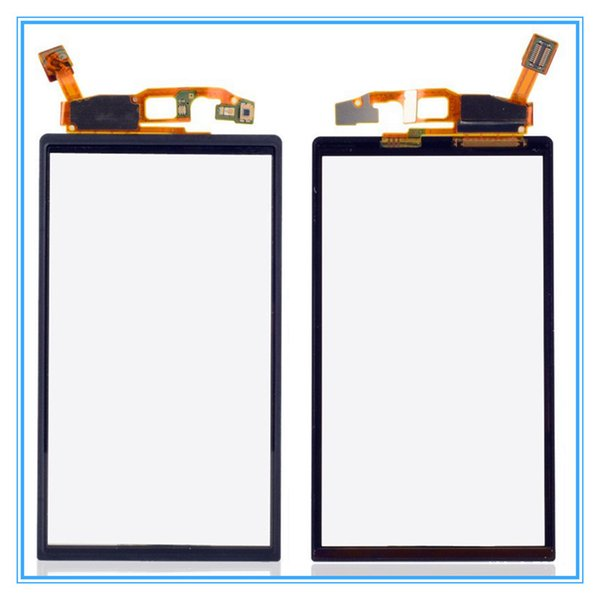Black Touch Screen Digitizer Front Glass Panel For Sony Ericsson Xperia Neo V MT15i MT11i MT15 Touchscreen Sensor Replacement Free Shipping
