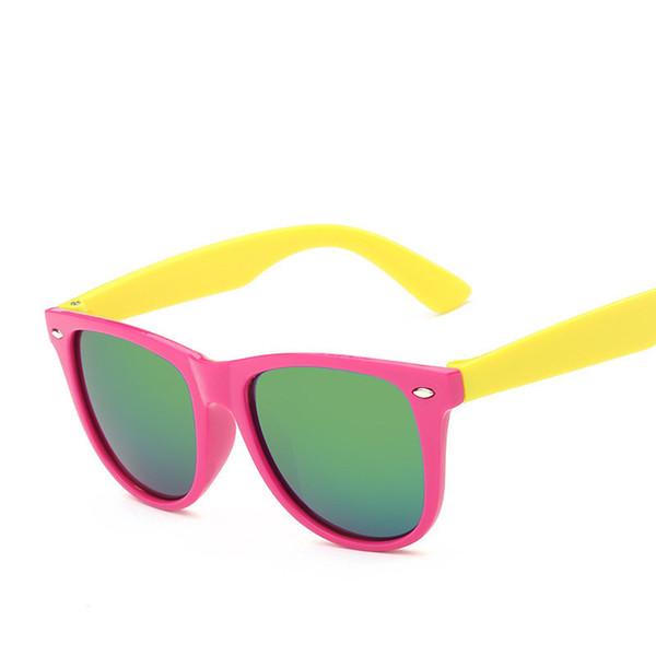 Wholesale- Fashion Children Sunglasses Kids Brand Designer 2016 new Polarized Sport Girl Boys Goggle Baby Sun Glasses Oculos Infantil UV400