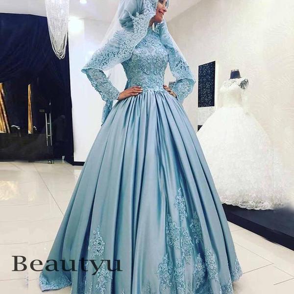 Großhandel Hohe Qualität Muslimischen Islamischen Hijab Abendkleid ...