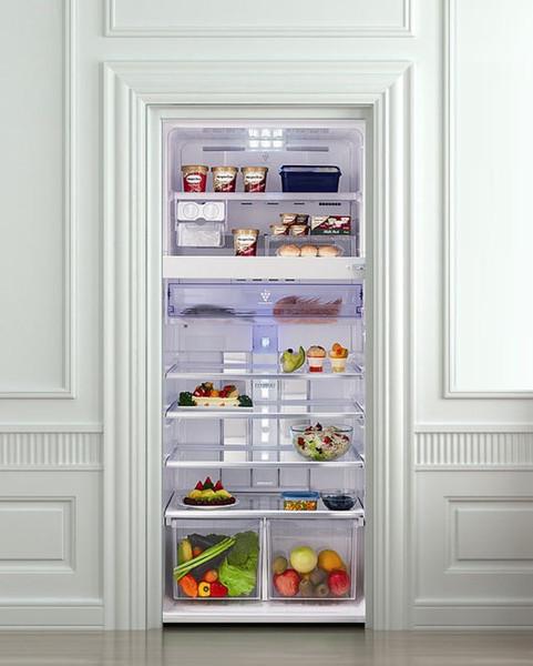 DIY 3D Wall Sticker Mural Home Decor food refrigerator Removable Door Sticker decole 77*200cm