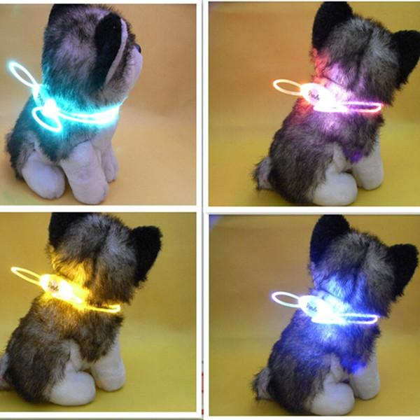 Pet Supplies Großhandel Licht emittierende LED Hundehalsband Medaillon Hals große Rasse Hunde und Katzen Hersteller bietet direkt
