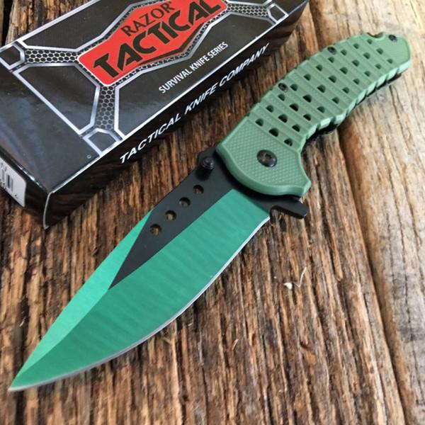 MZY Green RAZOR TACTICAL Assorted 8.25