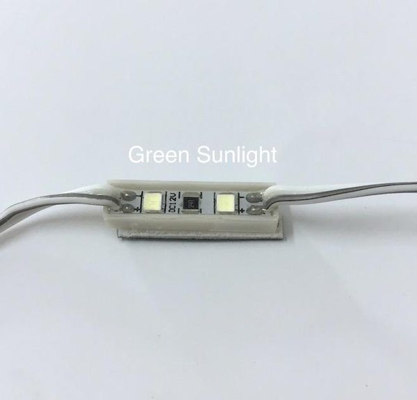 0.24W led module 12V 2led 2835 chip sanan led high quality have red ,blue ,white ,yellow color can use many place
