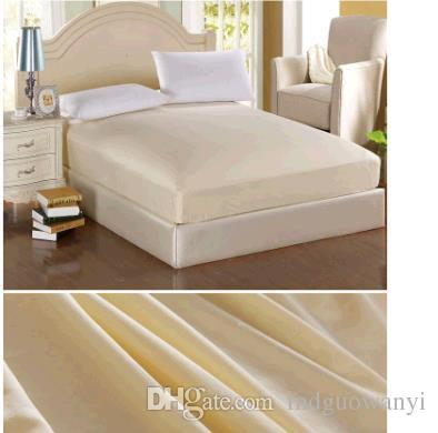 Wholesale hot selling Cheap Free shipping Aloe pure color cotton coverlet bed Bedspread shoe Hotel simmons protective sheet