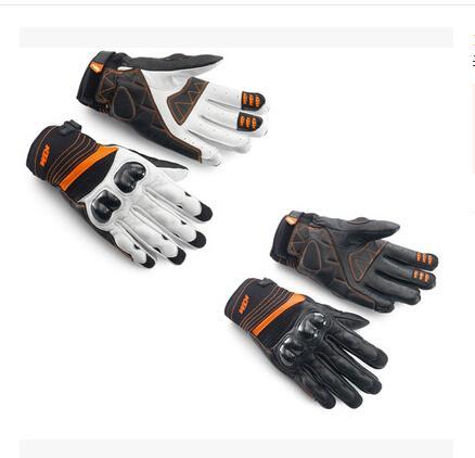 2015 KTM RADICAL X guanti in fibra di carbonio per motocicletta guanti da moto in pelle guanti da corsa in pelle