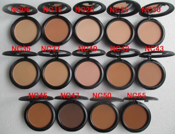El nuevo estudio de la marca de los cosméticos del envío libre soluciona powder15g powder + foundation face 10 PCS / lot
