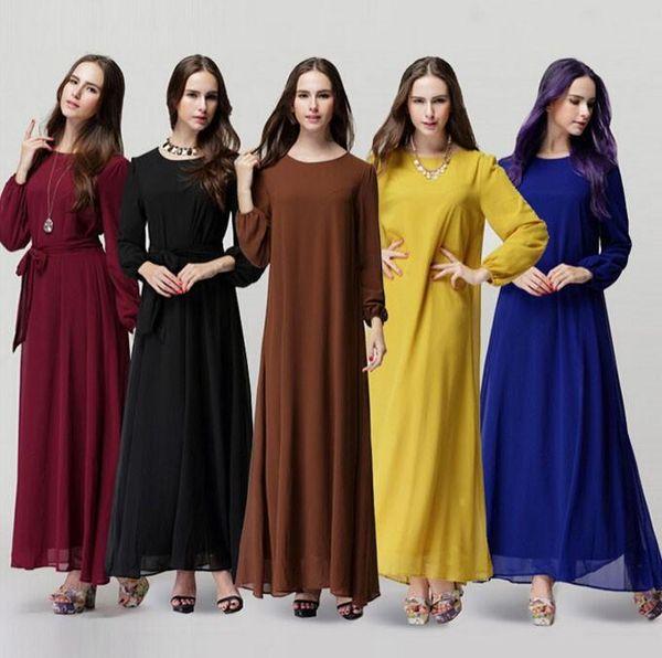 top popular New Muslim abaya dress for women Islamic dresses dubai Islamic clothing Muslim kaftan abaya Dress turkish jilbab hijab 2021