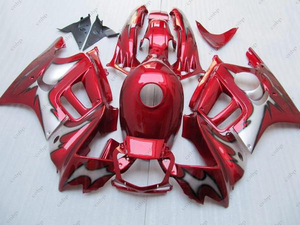 Kits Carenado CBR 600 F3 97 98 Carrocería para Honda Cbr600 1997 Carenado ABS Rojo CBR600 F3 1995 1995 - 1998